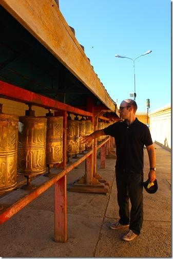 Prayer wheels, Gandan Khiid