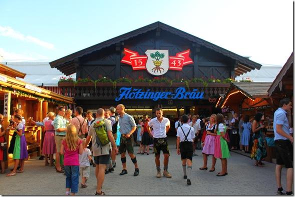 Hotzinger-Brau tent